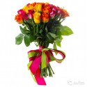 Роза 41 шт (40см)